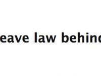 leave law behind