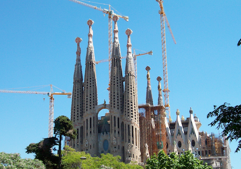 adventure vacation ideas sagrada familia