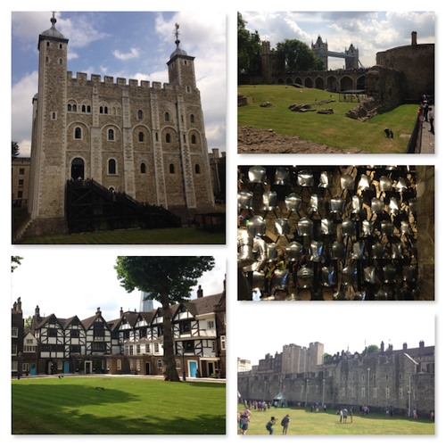 london top 10 sites tower of london