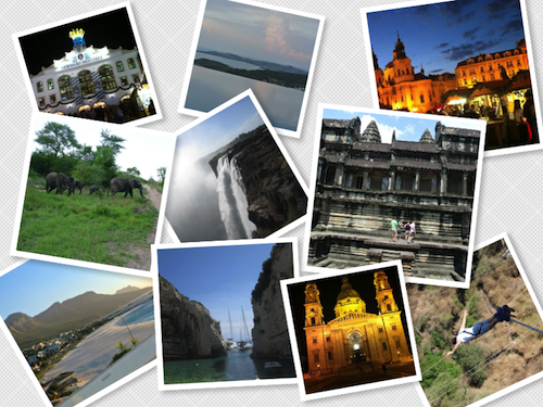 World travel photos